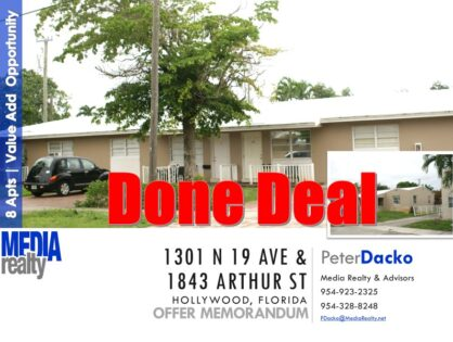 Done Deal | 8 Apartments | Value Add | East Hollywood | Great Unit Mix
