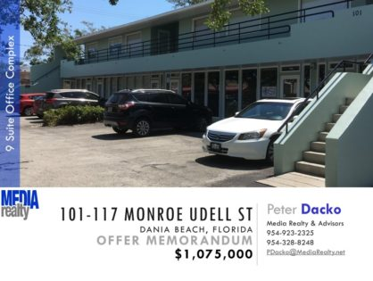 Value Add | Dania Beach Office Building | Located in CBD