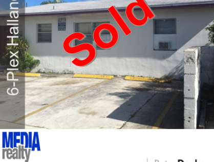 Done Deal | 6Plex | Hallandale | 1012 NW 2 Ave
