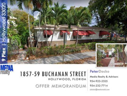 9Plex   East Hollywood   $105K/Unit   1857 Buchanan St