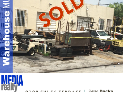 Done Deal | Warehouse | West Park | 2130 SW 56 Ter