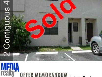 Done Deal | 8Plex | 3510 NW 91 Ave | Sunrise