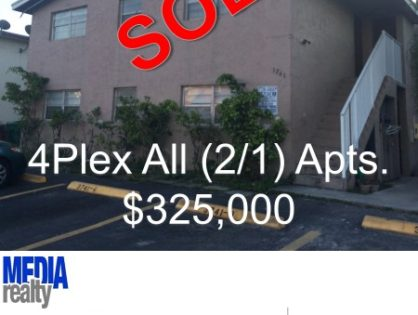 Done Deal   Davie 4Plex   3741 SW 60 Ave