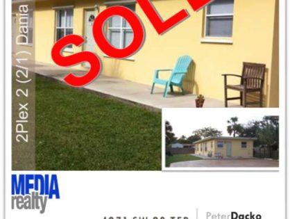 Done Deal   Dania Beach 2Plex   4971 SW 28 Ter