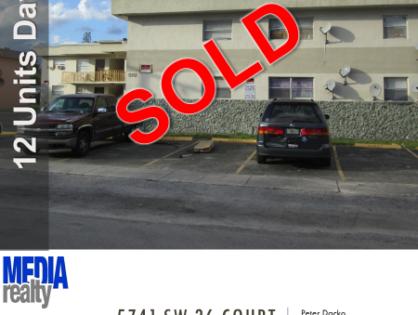 Done Deal | 12Plex Davie | 5741 SW 36 Ct