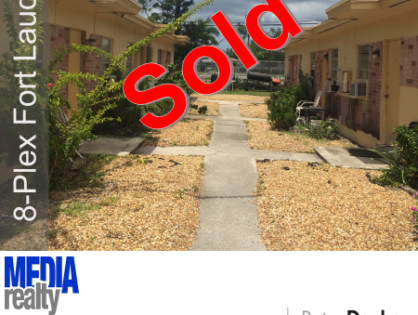 Done Deal | 8Plex | Fort Lauderdale | 637 NW 15 Ter