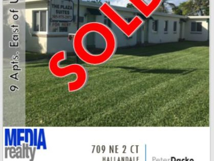 Done Deal | 9Plex | Hallandale | 709 NE 2 Ct | East of Federal Hwy