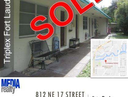 Done Deal | 3Plex | Fort Lauderdale | 812 NE 17 ST