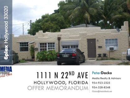 Value Add 6plex | Hollywood 33020 | $104,000 per Unit