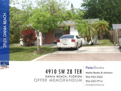 $300,000 | Value Add 2plex | Dania Beach
